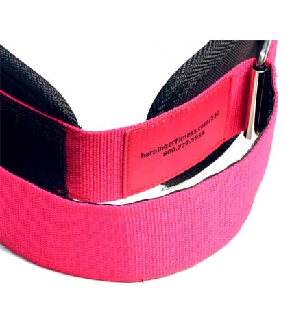 5465c70ccea9 Dámský fitness opasek Harbinger 232 růžový. «
