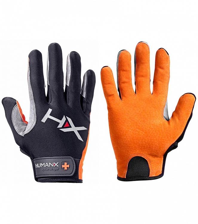 Rukavice na CrossFit Harbinger X3 oranžové  253ce246d2