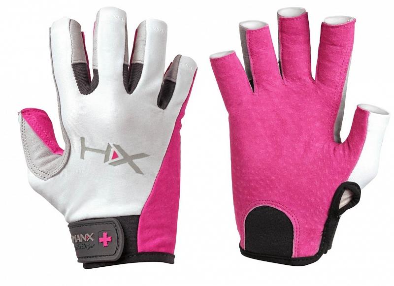 Dámské rukavice na CrossFit Harbinger X3 3 4 růžové. « 0736bff617